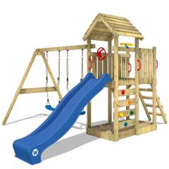 Detské ihrisko Wickey MultiFlyer s drevenou strechou