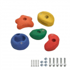 5 Lezecké kamene 90 cm farebné